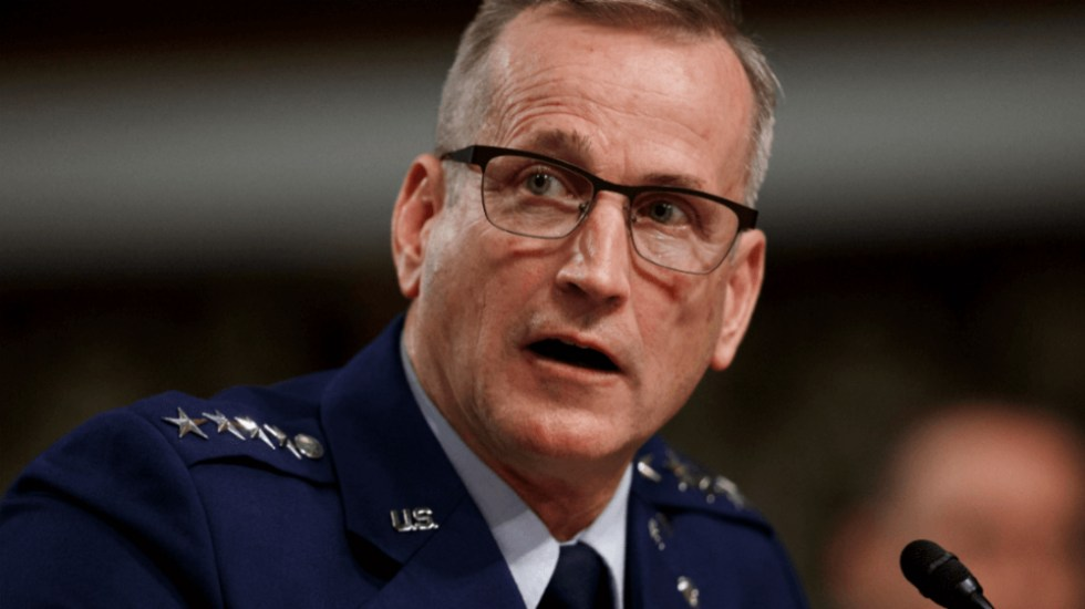 """""""No hay amenaza militar"""" en frontera con México: general del Pentágono - Terrence O'Shaughnessy, general de Estados Unidos. Foto de AP"""