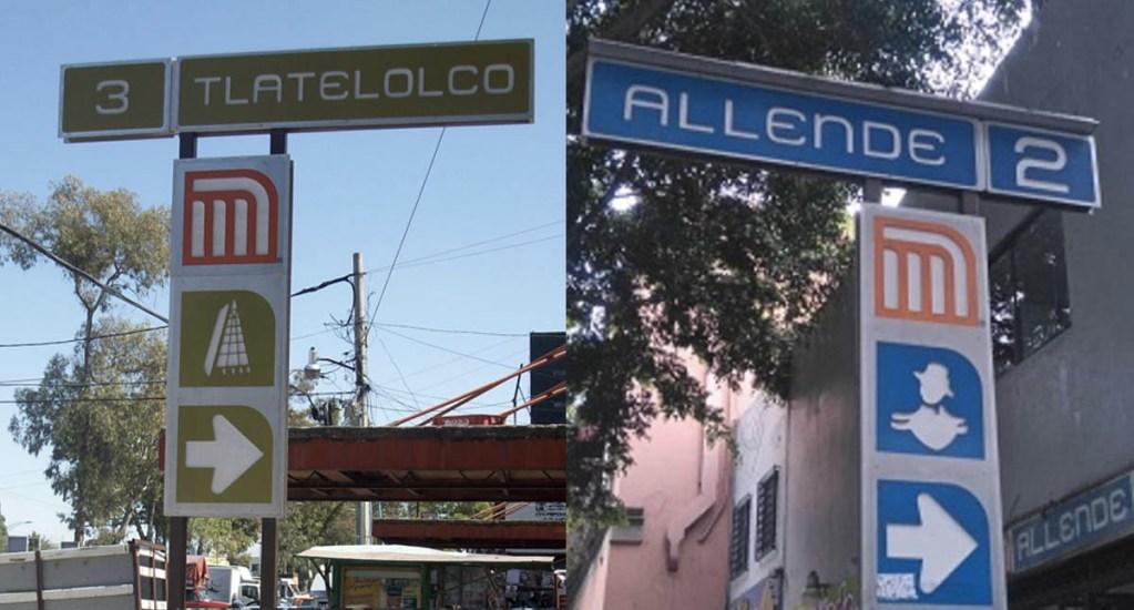 Proponen cambiar nombres de estaciones Allende y Tlatelolco del Metro - Foto de Internet