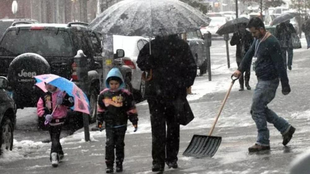 Nueva York sufre efectos detormenta invernal - Foto de Getty