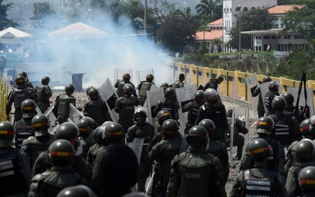 Las horas más violentas en San Antonio del Táchira, Venezuela - Foto de Federico Parra/AFP