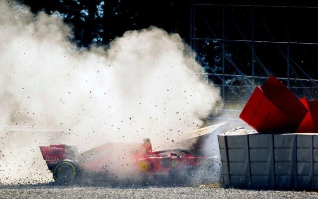 #Video Vettel sufre accidente en el Circuito de Montmeló - Foto de Fórmula 1