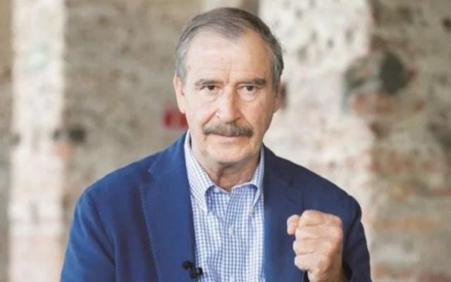 Vicente Fox defiende ante AMLO el neoliberalismo - Vicente Fox. Foto de El Universal