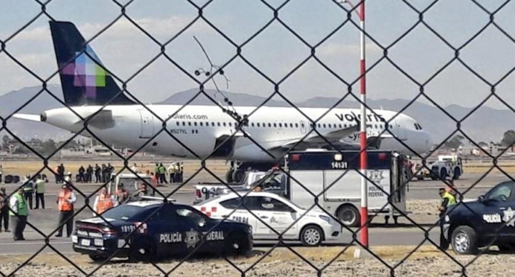 Falsa alarma de bomba obliga a cancelación de vuelo de Ciudad de México a Mérida - Foto de @SUUMA_CDMX