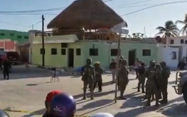 Derrumbe en bar de Yucatán deja al menos tres muertos - Captura de pantalla