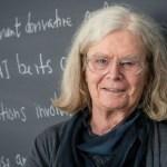 Una mujer gana por primera vez el Premio Abel de matemáticas - Foto de Andrea KANE/Norwegian Academy of Science and Letters/AFP
