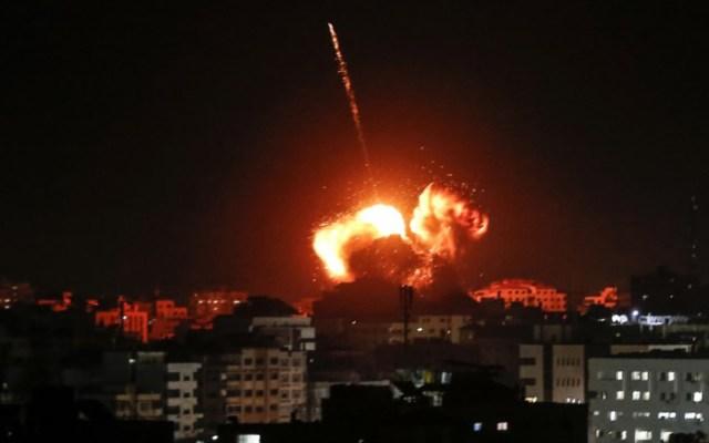 Israel y Hamas acuerdan alto al fuego tras ataque con cohetes desde Gaza - ataque cohetes hamas israel