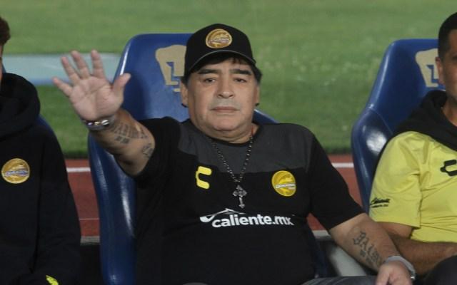 """""""No veo películas de terror"""": Maradona sobre Argentina - maradona argentina"""