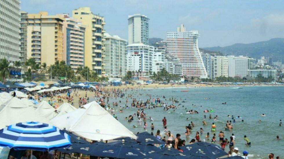 México cae al séptimo lugar en ranking de llegada de turistas internacionales - Foto de Notimex