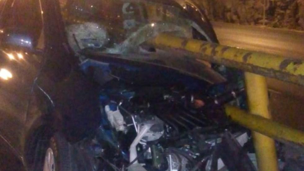 Muere hombre en accidente en la carretera México-Pachuca - accidente mexico-pachuca muerto