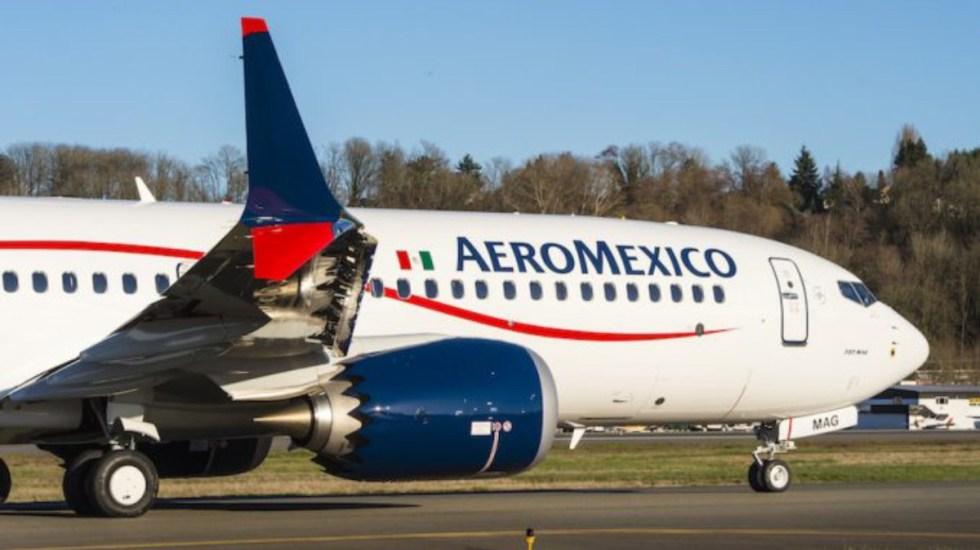 Aeroméxico exigirá compensación a Boeing por aviones 737 MAX