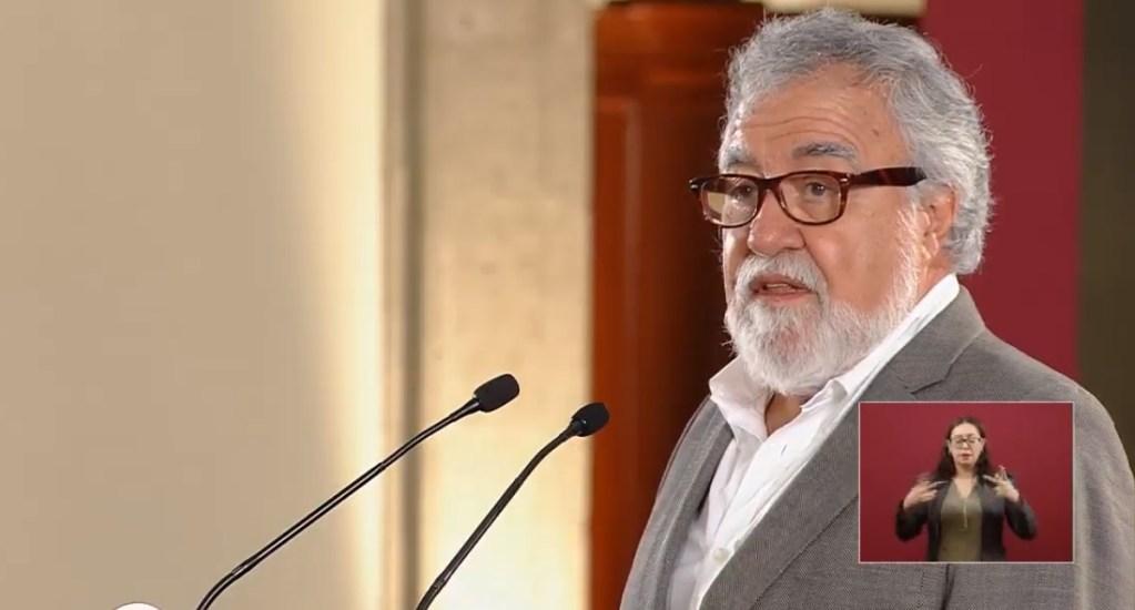 Lista de postulados a la Comisión Ejecutiva de Atención a Víctimas - Alejandro Encinas, subsecretario de Derechos Humanos de la Segob. Captura de pantalla