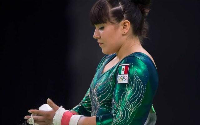 Alexa Moreno queda en cuarto lugar en Copa del Mundo en Doha - Foto de @CONADE