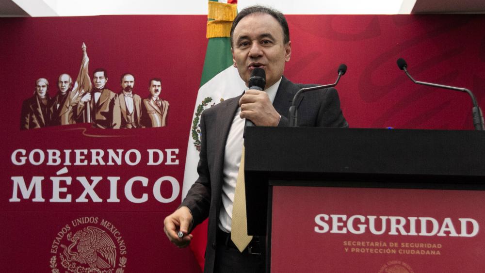 Alfonso Durazo se despide de la Secretaría de Seguridad y Protección Ciudadana - Foto de Notimex