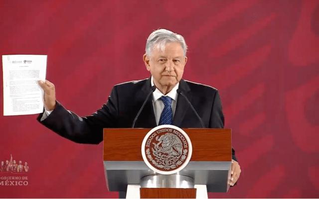 Conferencia de AMLO (19-03-2019)