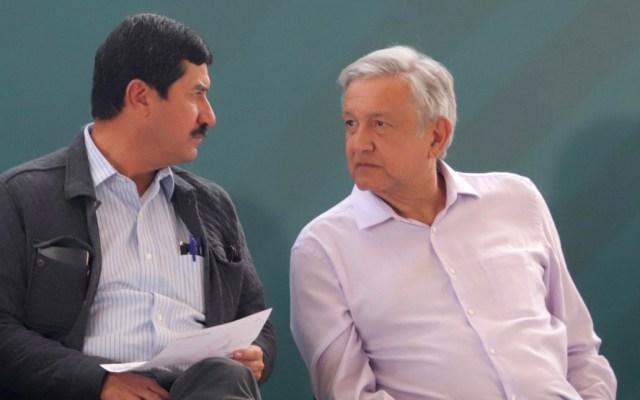 """""""Merecen más respeto los opositores que los abyectos"""": López Obrador - Es su visita a Chihuahua, el presidente expresó su respeto absoluto y sin condiciones al gobernador Javier Corral Jurado. Foto de Notimex"""