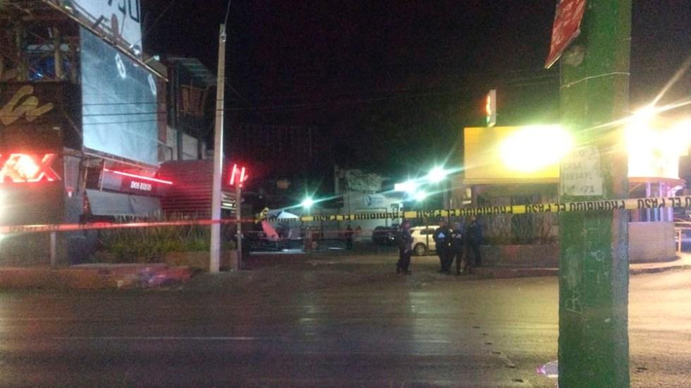 Balacera deja un muerto en bar de Cuernavaca - Foto de @Quadratin_Mor