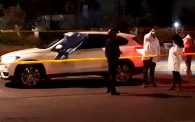 Asesinan a conductor de camioneta en Coyoacán - Foto de Excélsior