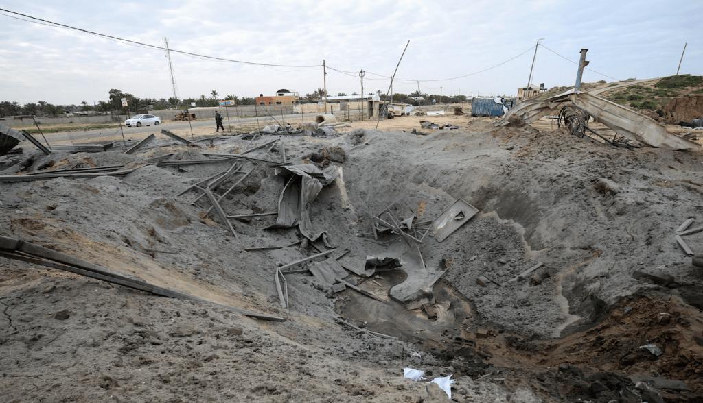 Israel bombardea Gaza luego de disparos de cohetes hacia Tel Aviv - Foto de AFP
