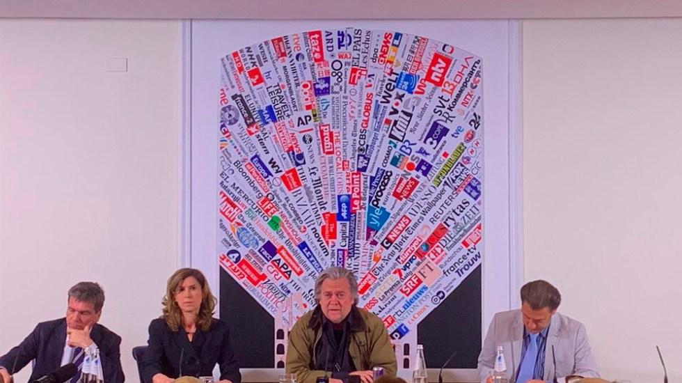 Bannon reconoce papel de AMLO en renegociación del TLCAN - Foto de @ItalianInsider1