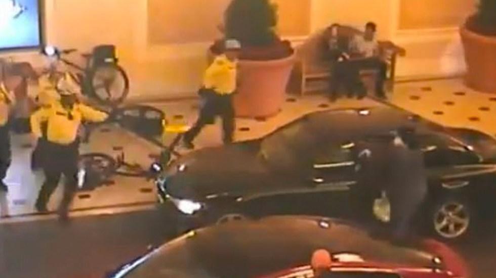 #Video Roba casino de Las Vegas y muere tras tiroteo con la policía - Captura de Pantalla
