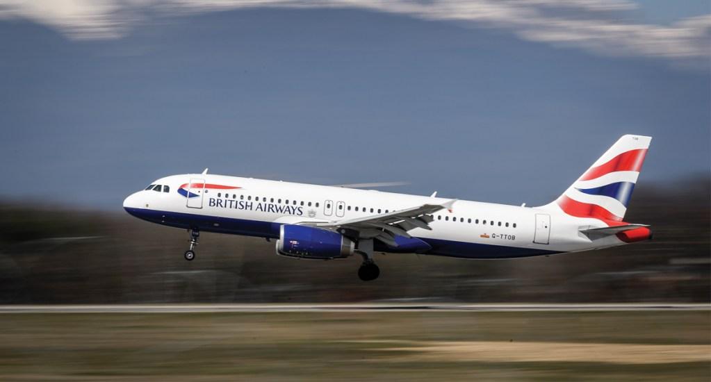 Avión de British Airways se equivoca de destino - Foto de AFP
