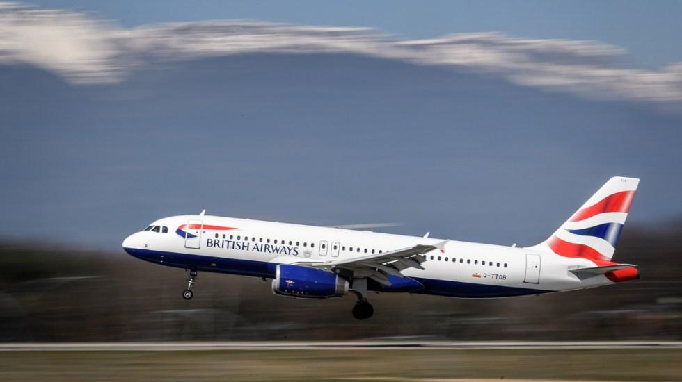 Vuelo de BritishAirways aterriza en Escocia en lugar de Alemania - Foto de AFP