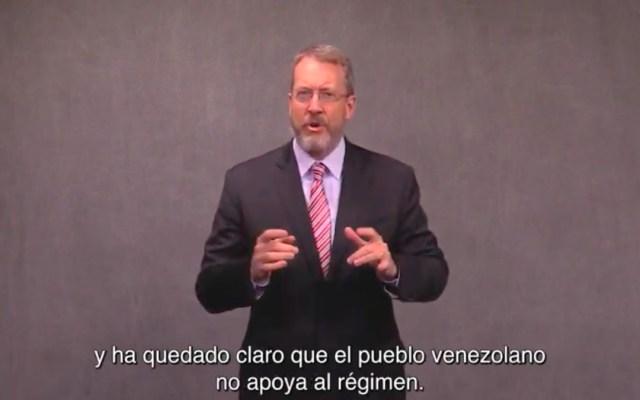 """Embajada de EE.UU. llama a venezolanos a estar """"del lado correcto de la historia"""" - Embajada de EE.UU. llama a venezolanos a estar"""