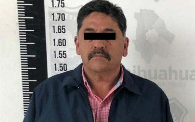 Detienen a alcalde en Chihuahua por presuntamente obstruir acción policial - Foto de FGE Chihuahua
