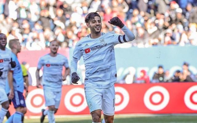 LAFC empata ante el New York con doblete de Vela - Foto de LAFC