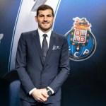 Iker Casillas renueva contrato con el Porto hasta 2020 - Foto de @FCPorto
