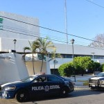Asesinan a tres agentes de seguridad en CFE de Villahermosa - CFE de Villahermosa. Foto de @javalos_mx
