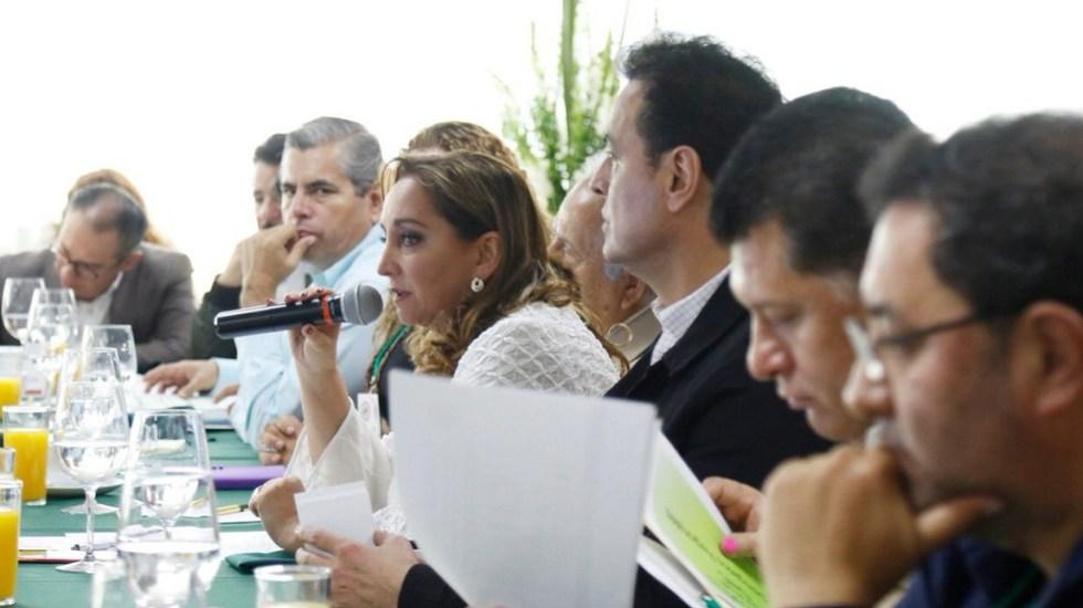 PRI solicita al INE organizar la renovación de su dirigencia nacional - Claudia Ruiz Massieu propuso que el INE atraiga elección. Foto de @ruizmassieu