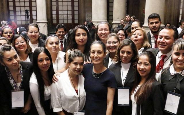 Claudia Sheinbaum pone en marcha 'Abogadas de las Mujeres' - Foto de Twitter Claudia Sheinbaum