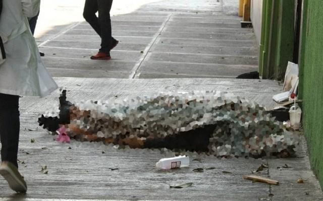 Indigente amanece muerto en la colonia Obrera - colonia Obrera