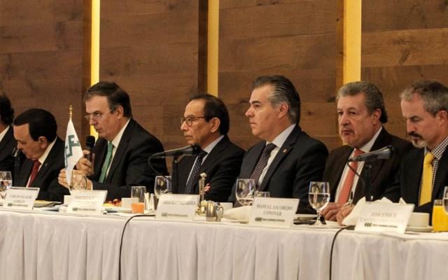 En todos los temas hay algo que modificar: CCE a Gobierno Federal - Consejo Nacional del CCE. Foto de @cceoficialmx