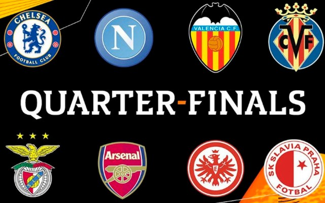 Definidos los cuartos de final de la Europa League - Foto de @EuropaLeague