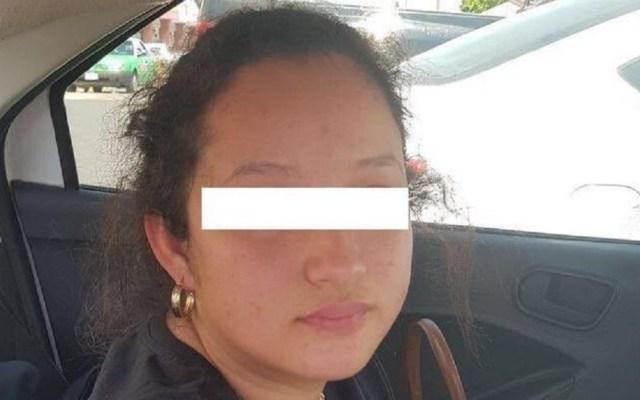 Gobernador de Guanajuato reclama libertad a cuñada de 'El Marro' - Angélica N., cuñada del Marro. Foto de @Antoniorochape