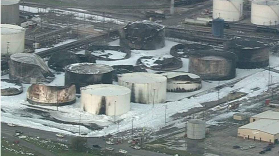 Extinguen incendio en planta química en Texas - Foto de abc13