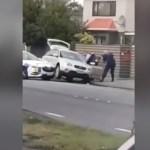 #Video Así detuvieron al autor de la matanza en Nueva Zelanda