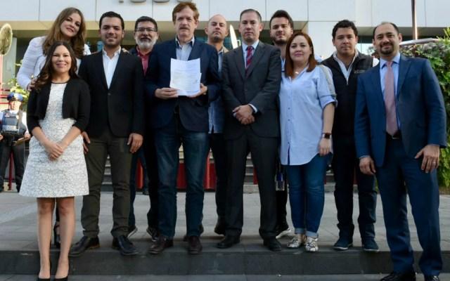 Diputados del PAN presentan amparo ante bloqueos de CNTE en San Lázaro - Foto de diputados PAN
