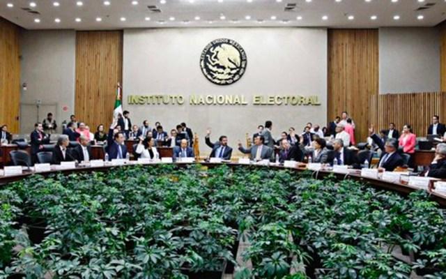 INE determina tope de financiamiento a nuevos partidos - Foto de El Economista