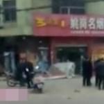 Conductor mata a seis luego de intentar asesinar a su esposa e hija - Escena del atropello masivo en China. Foto de Thepaper.cn