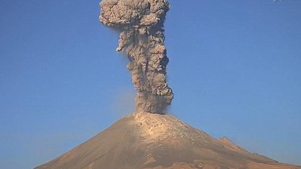 Protección Civil pide evitar el alpinismo en el volcán Popocatépetl. Noticias en tiempo real