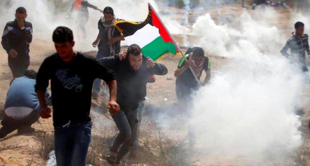 Aniversario de protestas en frontera Gaza e Israel deja tres muertos - Foto de Twitter