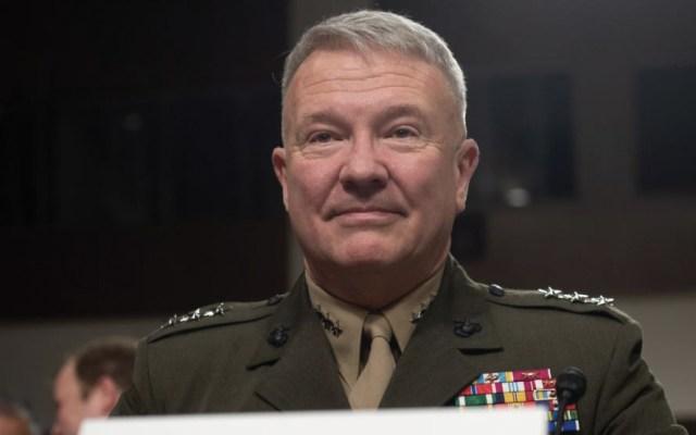 Pentágono nombra a Frank McKenzie nuevo jefe para Medio Oriente - Foto de AFP