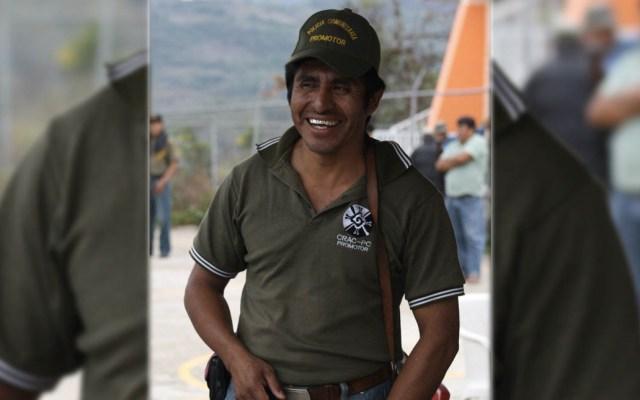 Confirman que activista Gonzalo Molina fue localizado con vida - Gonzalo Molina González. Foto de Tlachinollan