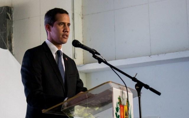 EE.UU. considera 'ridícula' la inhabilitación de Juan Guaidó - Juan Guaidó. Foto de @jguaido