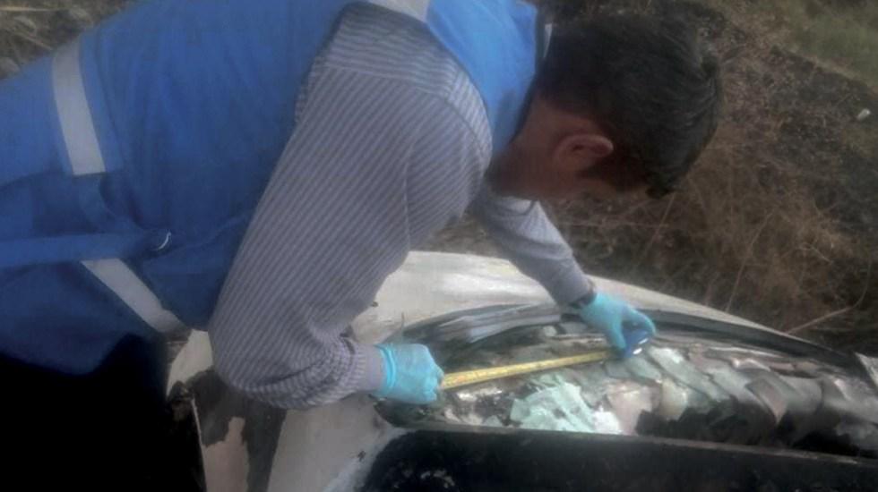 Fiscalía de Guanajuato investiga vehículos quemados en Santa Rosa de Lima - Foto de Milenio