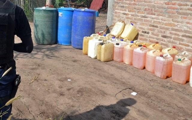 Aseguran mil 440 litros de hidrocarburo en Jalisco - Foto de AB Noticias