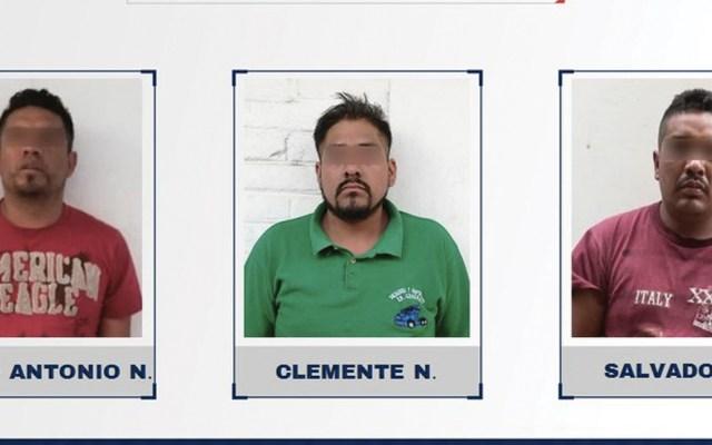 Vinculan a proceso a tres que asesinaron a tripulantes de camión de cerveza - Foto de Fiscalía Puebla